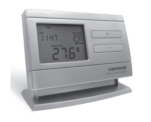 Radio frequency programmable digital thermostat q8rf.